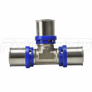 Brass Press Fitting for Multilayer Pipe with Ce ISO Certificate pictures & photos