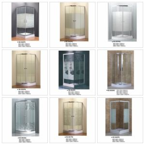 Sector Tray Painting Cross Strip Shower Cubicle pictures & photos