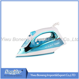 Electric Travelling Steam Iron Sf-9006 Electric Iron with Full Function (Green) pictures & photos