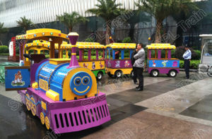 24seats, Kids Riding, Shopping Mall, Park, CE Approved Mini Electric Trackless Train pictures & photos