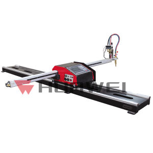 Hnc-1500W Heavy-Duty Rail CNC Mini-Size Cutting Machine pictures & photos