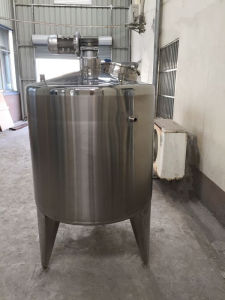 Milk Fermantation Tank Milk Mixing Tank Blending Tank pictures & photos
