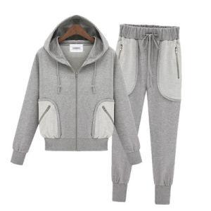 Fashion Leisure Unisex Hoodies Suit (004) pictures & photos
