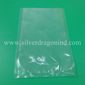 Custom Embossed Vacuum Bags with Air Channel for Package, PA/PE pictures & photos