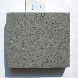 Polished Stone Material Artificial Quartz Stone (QG113) pictures & photos