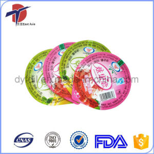 High Quality Aluminum Foil Lids for Dairy Packaging pictures & photos