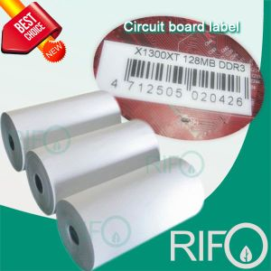 BOPP Synthetic Labels Tags Material for Flexible UV Rotary Printable pictures & photos
