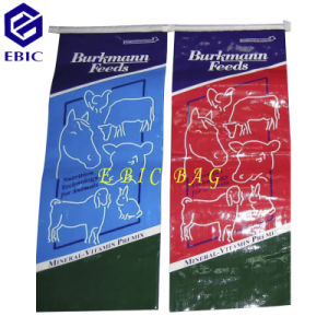 PP Woven Feed Bag with Square Bottom for Europe Market pictures & photos