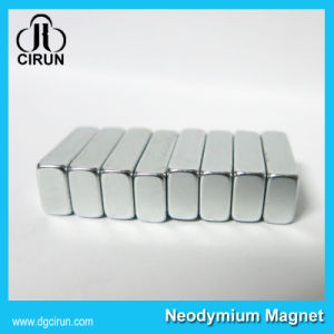 Super Strong Rare Earth Block N52 Neodymium Magnet pictures & photos