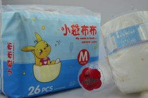 Hot Sell High Quality Sleepy Baby Diapers Manufacturer in China (DS003) pictures & photos
