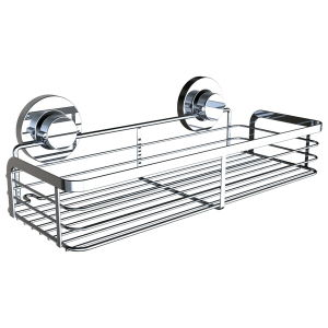 Strong Suction Power Bathroom Long Shelf