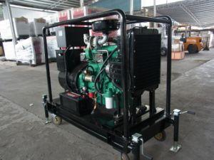 Small Mobile Diesel Generator 30kw Open Type