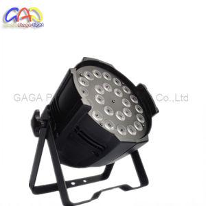 24*18W LED PAR Light DJ LED Fabrique PAR Indoor Rgbwap LED PAR Light pictures & photos