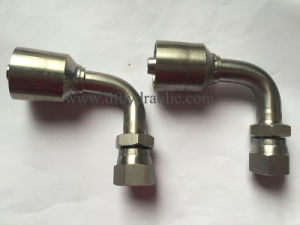 Ss304 90 Degree Jic Femail74 Degree Coneone Piece Fittings pictures & photos