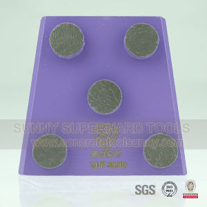 5 Segment Trapezoid Concrete Grinding Plate pictures & photos