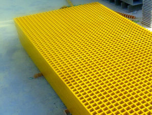 Fiberglass Reinforced Plastic FRP Lightweight Grating pictures & photos