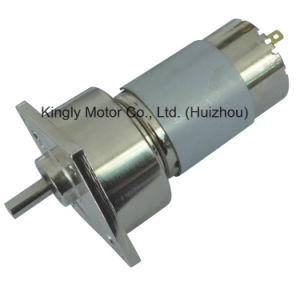 60mm 12V 24V Electric Low Speed High Power DC Gear Motor pictures & photos