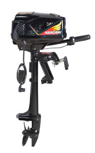 Good Quality Hangkai 48V 800W Electric Fishing Boat Outboard Motor pictures & photos