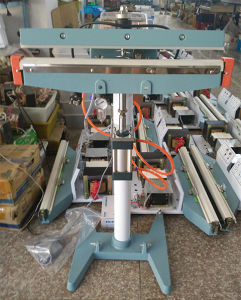 Automatic Pedal Sealing Machine Foot Sealer with Electric Magnetic and pneumatic Cylinder, Code Printer pictures & photos