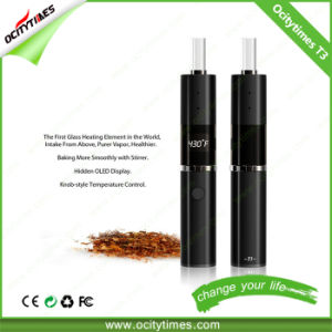 Good Flavor Taitan Vs-T3 Glass Heating Chamber Dry Herb Vaporizer pictures & photos