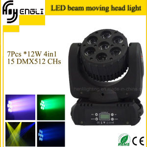7PCS *12 4in1 LED Beam Moving Head Stage Light (HL-010BM) pictures & photos
