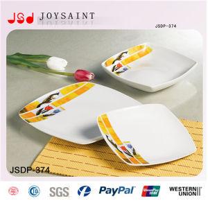 Hot Sale Squared Ceramic Dinner Set pictures & photos