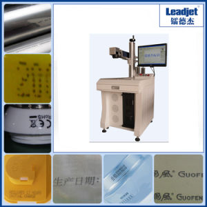 Industrial Fiber Laser Printer for Metal pictures & photos