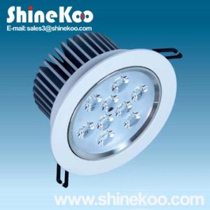 9W Aluminium LED Downlight Convex (SUN10-9W) pictures & photos