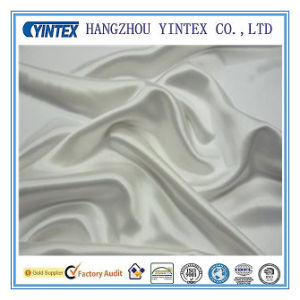 100% Silk White Silk Satin Fabric pictures & photos
