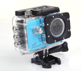 1.5inch TFT Screen Sports Camera WiFi Water-Resistant Full HD 1080P (QLM-SJ5000+)