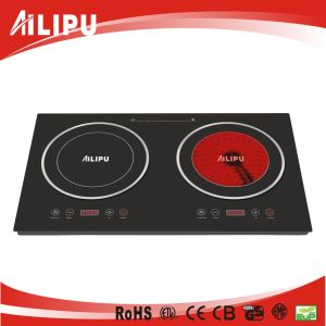 Home Appliance Double Burner Cookware of Infrared Heater pictures & photos