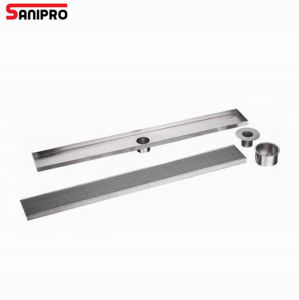 304 Stainless Steel Linear Bathroom Shower Drain for Bath pictures & photos