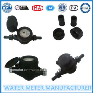 Nylon Plastic Multi-Jet Dry Type Water Meter of Dn15-20mm pictures & photos