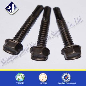 Black Zinc Plated Flange Bolt (Grade 5) pictures & photos