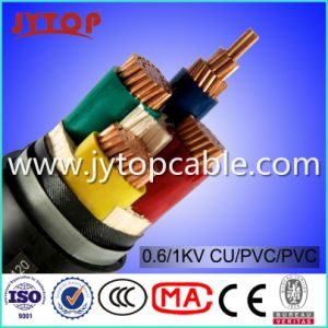 LV 0.6/1kv Nyy-J Cable 4X70mm with Ce Certificate pictures & photos