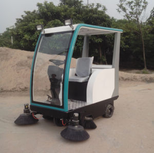 Fl760 Electric Road Sweeper for by Battery for Cleaning Factory and School