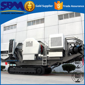 Portable Silicate/Gypsum/Phosphorus/Gangue/ Talc /Slag/Pebble/Marble Crushing Line pictures & photos
