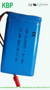 Lithium Polymer Battery Pack for Safety Lock pictures & photos