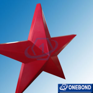 High Quality PVDF Red Star Shape Aluminum Panel for Decoration pictures & photos