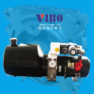 12V DC 0.8kw Solienoid Hydraulic Power Pack with Check Valve, Relief Valve, Throttle Valve pictures & photos