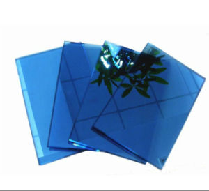 Ce&ISO Certificates 5mm Dark Blue Reflective Glass pictures & photos