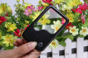 Factory Supply LED Light Card Magnifier for Promotional Gift (HW-212PA) pictures & photos