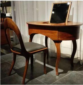 Solid Walnut Wood Dressing Table &Chair (GJ104)