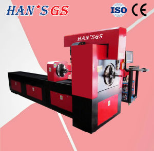 Metal Fiber Laser Tube Cutting Machine for Lighting Processing pictures & photos