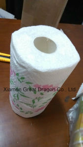 24 Giant Rolls Pick-a-Size White Paper Towels with Flower (GD-KP001) pictures & photos