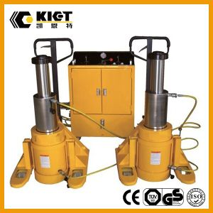 Kiet Factory Price Double Acting Multiple Rams Hydraulic Cylinder pictures & photos