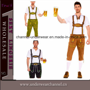 2015 Wholesale Sexy Men Halloween Beer Adult Costume (TLQZ6695) pictures & photos