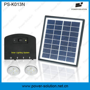 4W Solar Panel DC Home Solar Energy System with Mobile Phone Charger pictures & photos