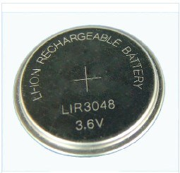 3.6V Lithium Rechargeable Button Cell Lir3048 pictures & photos
