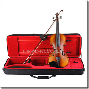 High Quality Flame Back Metal Tailpiece Moderate Violin (VM100) pictures & photos